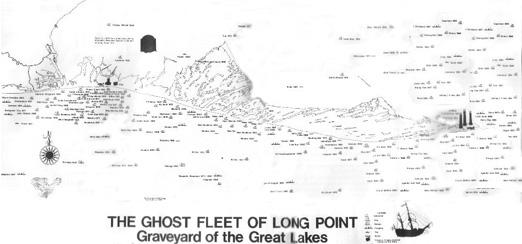 Ghost Ships of Long Point (Chart)